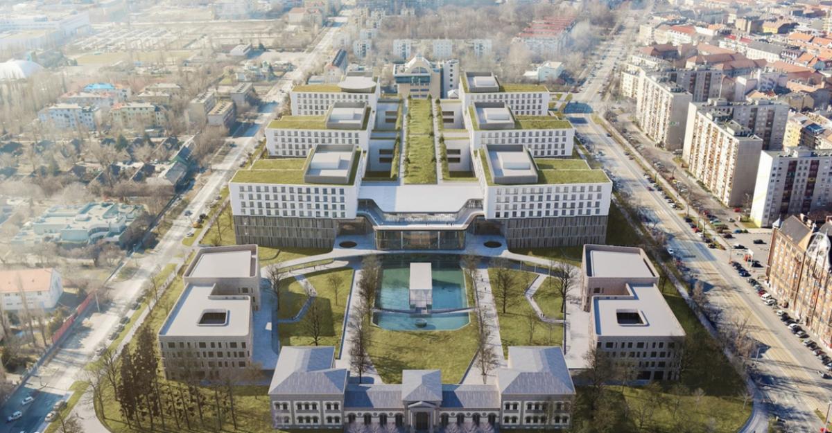 Stadion és szuperkórház is épül Ferencvárosban